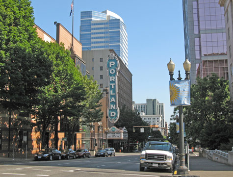 Landmarks in Portland Oregon