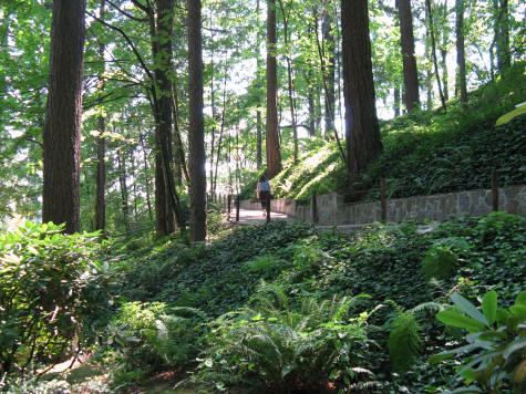 Parks gardens in portland